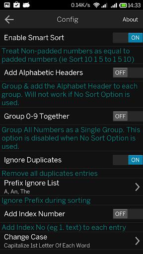 【免費生產應用App】Magic Sort List-APP點子