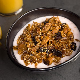 Popped Amaranth Granola