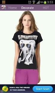 Photo Change Tshirt Editor