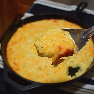 Easy Cheesy Hash Brown Casserole.