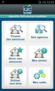 Gic Immobilier- screenshot thumbnail
