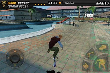 Mike V: Skateboard Party: miniatura da captura de tela