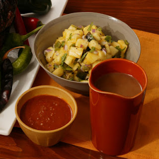 Pineapple and Roasted Poblano Salsa