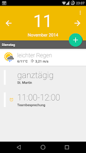 Calendar Widget+Status PRO- screenshot thumbnail