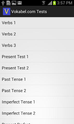 Vokabel.com Tests