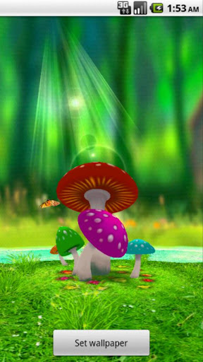 3D蘑菇園