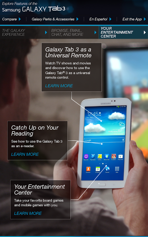 galaxy tab 3 7 0 retail mode   android apps on google play
