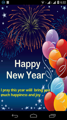 Happy New Year Greetings - screenshot