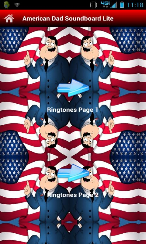 American Dad Ringtones - screenshot