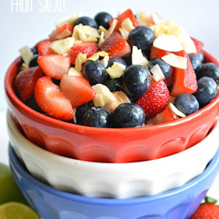 Red White & Blue Fruit Salad