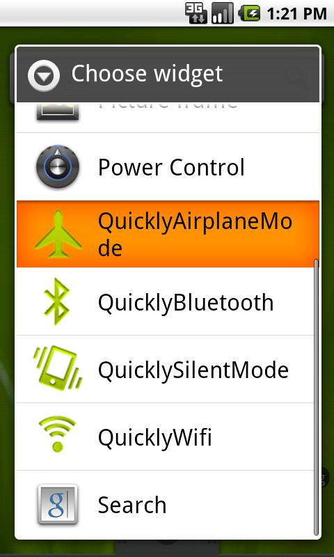QuicklyAirplaneMode - screenshot