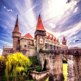 Transylvanian Castle by Florin Ihora - Buildings & Architecture Public & Historical ( gothic, hunedoara, corvin, castle, romania, transylvania,  )