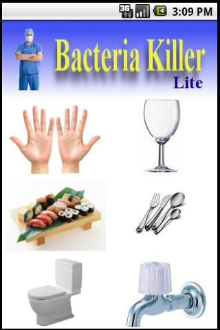 Bacteria Killer (Lite) - screenshot