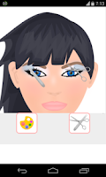 Screenshot of make eyebrows games