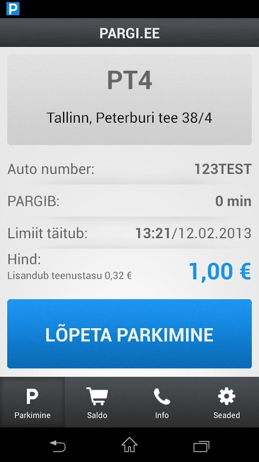 PARGI.EE - screenshot