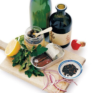 Balsamic, Caper, and Anchovy Marinade
