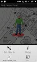 Screenshot of UofA Campus Droid