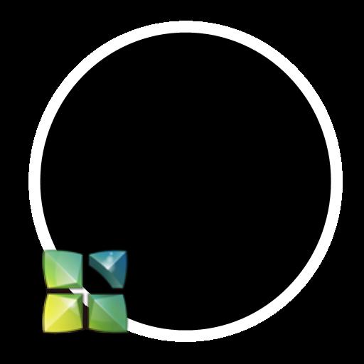 個人化必備App|Holo B&W Next Launcher Theme LOGO-綠色工廠好玩App