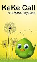 Screenshot of KeKe Call  Talk More Pay Less
