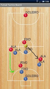 Futsal Tactics Board [Free] - screenshot thumbnail