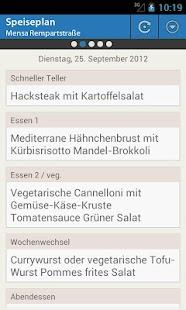 Mensa Freiburg - screenshot thumbnail