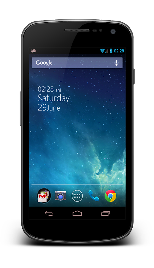 3D Parallax Background - screenshot