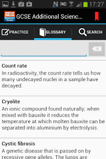 GCSE Additional Science- screenshot thumbnail