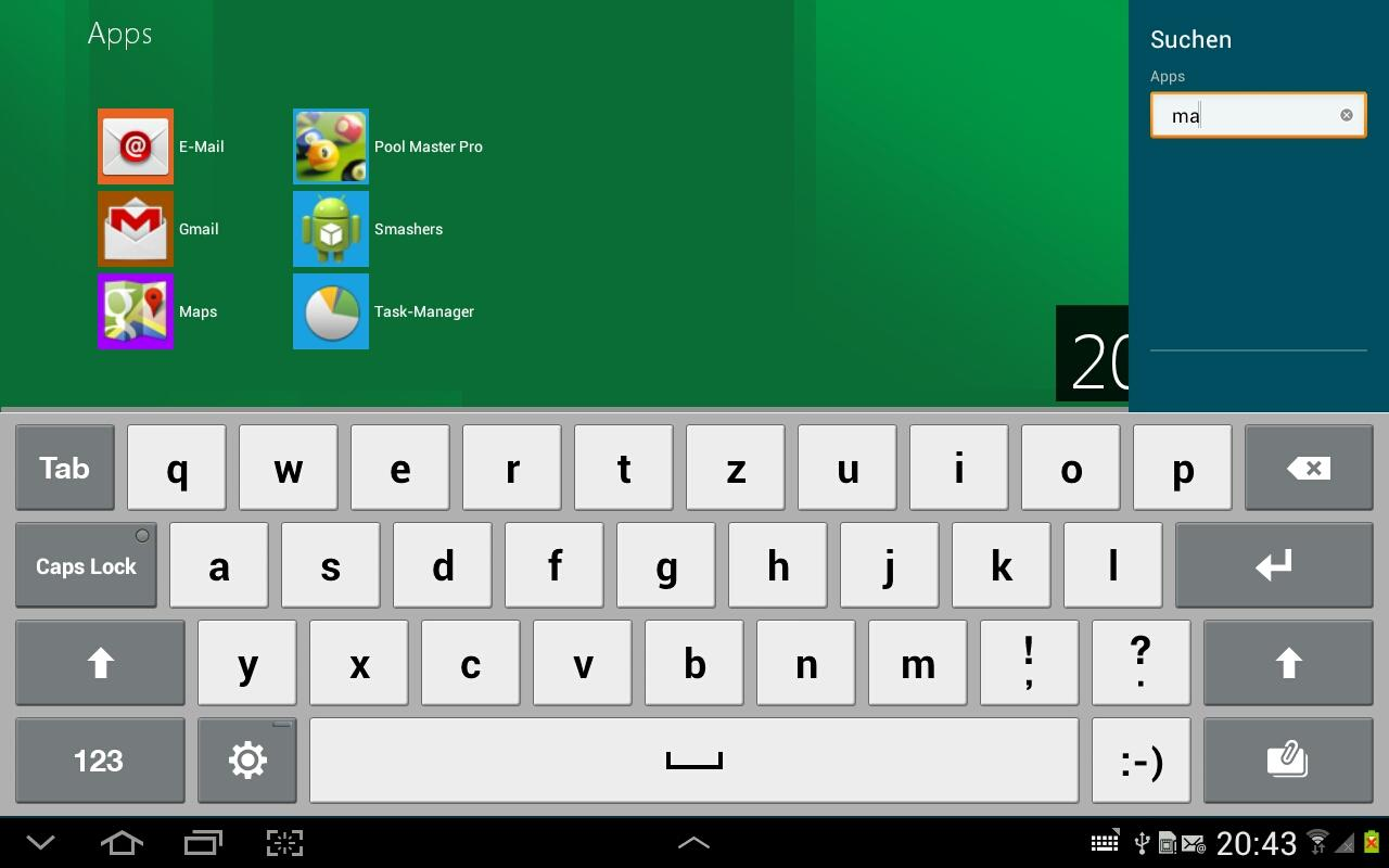 Windows 8 Metro Launcher Pro - screenshot