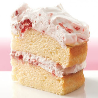 Raspberry-Cream Layer Cake