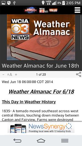【免費天氣App】IHP and WCIA 3 Weather-APP點子