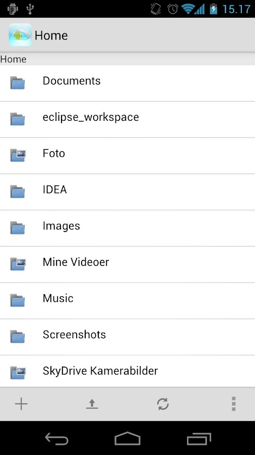 Android Explorer for OneDrive - screenshot
