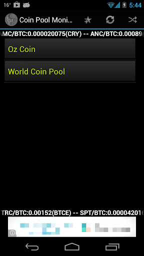 Coin Pool Monitor