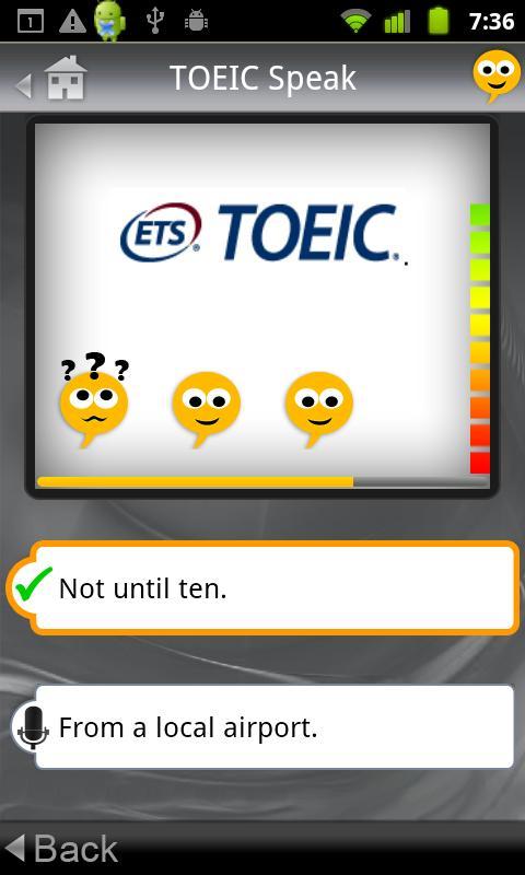 SpeakingPal plus TOEIC®- screenshot