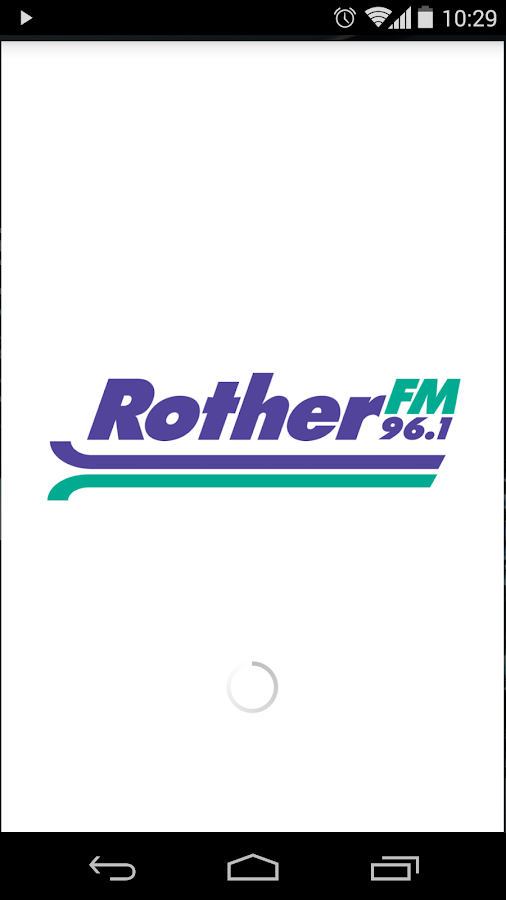 Rother FM- screenshot