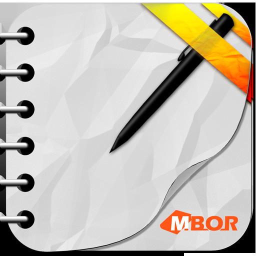 MBOR (My Book Of Rhymes) LOGO-APP點子