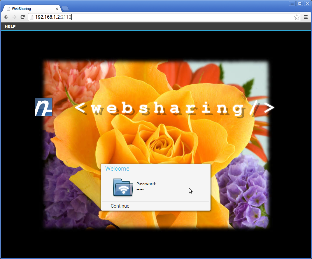 WebSharingLite (File Manager)- screenshot
