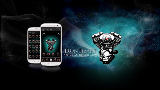Iron Heart Atom theme