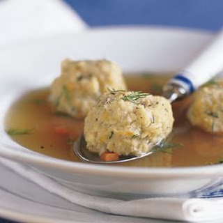 Joey's Matzo Ball Soup