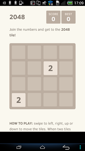 Game 2048 new 2015