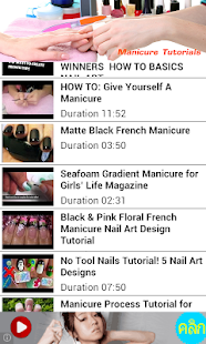 Manicure Tutorials - screenshot thumbnail