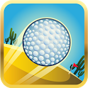 Mini golf games Cartoon Desert icon