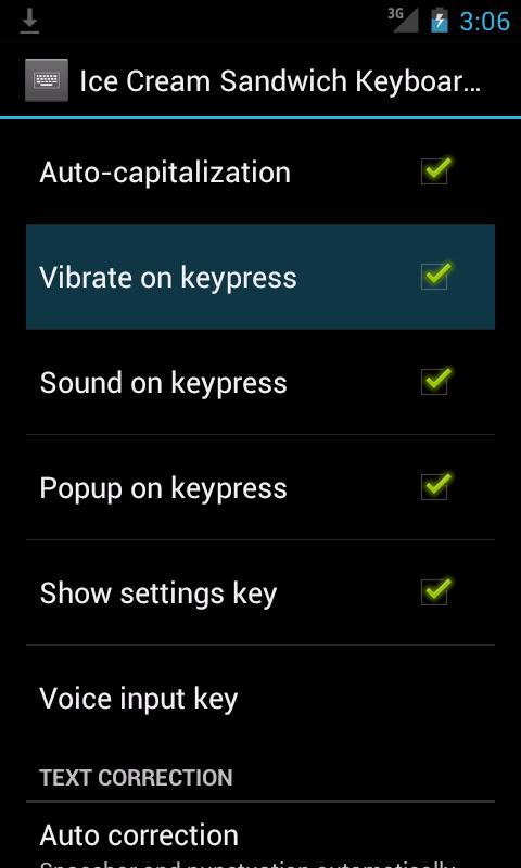 Cellular big button Keyboard - screenshot