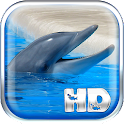 Dolphins Live Wallpaper HD icon