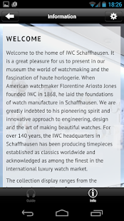 IWC Schaffhausen Watch Museum- screenshot thumbnail