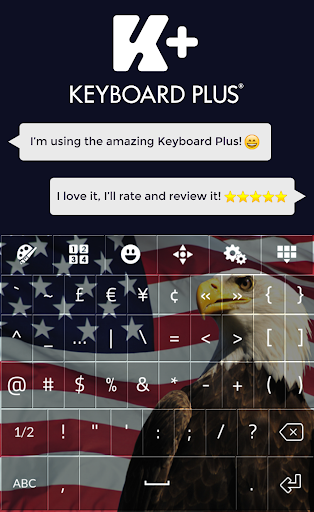 【免費個人化App】American Keyboard Theme-APP點子