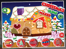 Screenshot of Christmas Home Maker