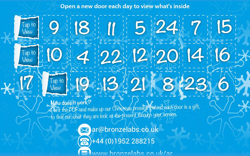 Looking Glass Advent Calendar