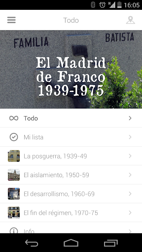 玩旅遊App|El Madrid de Franco 1939-1975免費|APP試玩