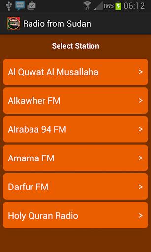 Radio from Sudan