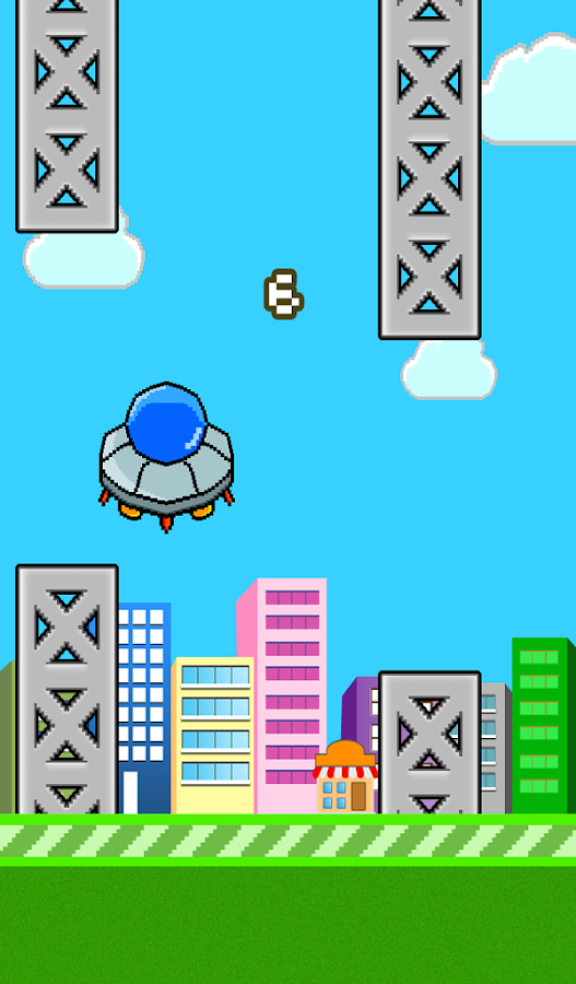 Tap Tap UFO- screenshot